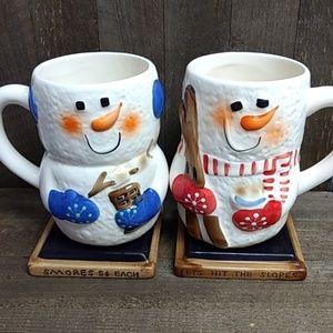 S'mores ceramic mugs
